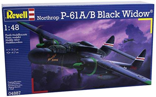 Revell-Modellbau-04887-P-61B-Black-Widow-im-Mastab-148