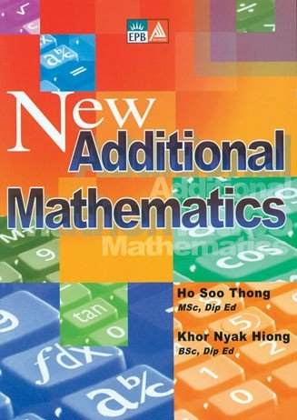 New Additional Mathematics - 9789814210188 | SlugBooks