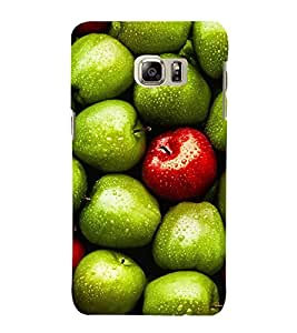 ASSORTED APPLES PIC 3D Hard Polycarbonate Designer Back Case Cover for Samsung Galaxy S6 Edge+ G928 :: Samsung Galaxy S6 Edge Plus G928F