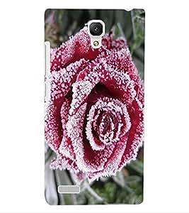 ColourCraft Beautiful Rose Design Back Case Cover for XIAOMI REDMI NOTE 4G