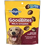 Pedigree Good Bites Multi-Vitamin Snack Food for All Sized Adult Dogs, 5-Ounce Pouches (Pack of 10)