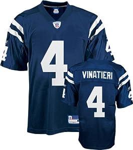 Reebok Indianapolis Colts Adam Vinatieri Replica Jersey by Reebok