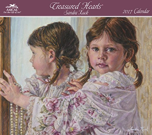 Sandra Kuck - Treasured Hearts Wall Calendar (2017)