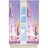 disney tangled rapunzel curtains