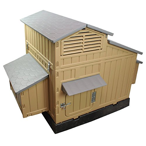 Chicken Coop Barn Building House Backyard Egg Poultry Supplies Roosting Plastic Frame SALE (Snap Lock Chicken Coop compare prices)