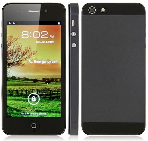 Inch Hvga Touch Screen Cell Phone with Quad Band Dual SIM Dual