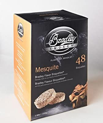 Bradley Technologies Smoker Bisquettes 48 Pack by Bradley Smoker