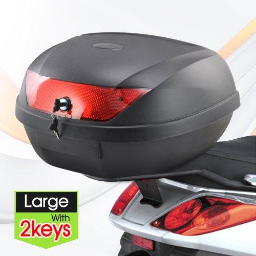 Yahee365 Rollerkoffer Motorradkoffer Top Case Roller (51 L)