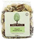 Tree Of Life Organic Whole Brazils 250 g (Pack of 2)