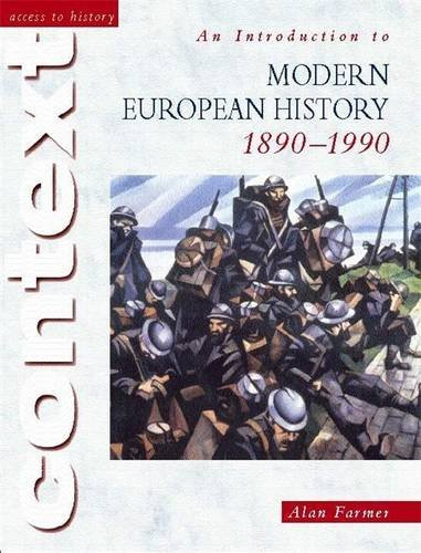 An introduction to modern european history, 1890-1990. Per le Scuole superiori (Access to History)