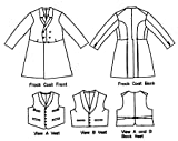 Laughing Moon #109 Men's Single and Double Breasted Frock Coats with Vests – Sewing Costume Pattern 1850 1915