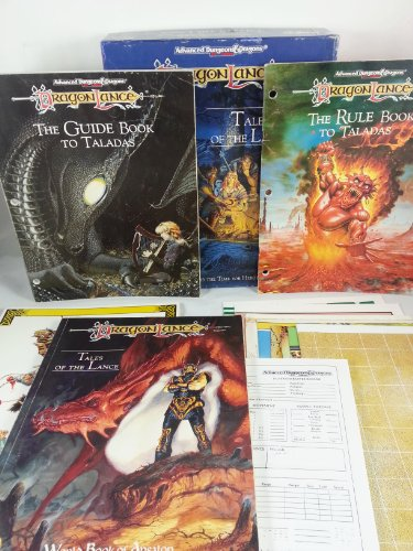 Advanced Dungeons And Dragons Dragonlance Bundle