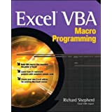 Excel VBA Macro Programmingby Richard Shepherd