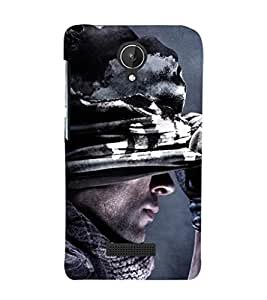 Ebby Premium Printed Mobile Back Case Cover With Full protection For Micromax Canvas Spark Q380 (Designer Case)