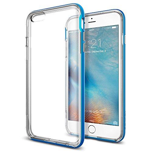 Spigen iPhone6s Plus ケース / iPhone6 Plus ケース, ネオ・ハイブリッド EX [ 二重構造 スリム フィット ] アイフォン6s プラス / 6 プラス 用 (エレクトリック・ブルー SGP11670)