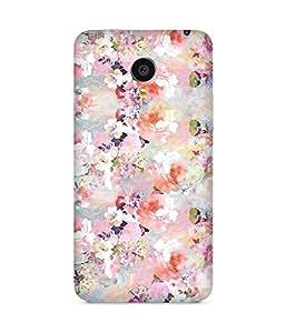 Multicolour Flowers Meizu MX4 Case