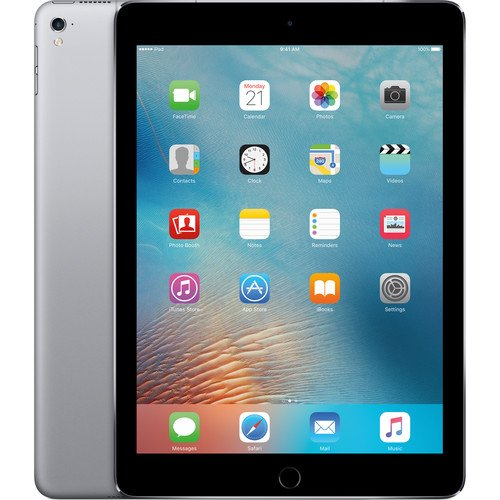 Click to buy iPad Pro MLQ62CL/A (MLQ62LL/A) 9.7-inch (256GB, Wi-Fi + Cellular, Space Gray) 2016 Model - From only $1119.11