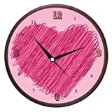 Wall Clocks - Printland Heart Wall Clock