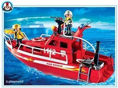 PLAYMOBIL® 3128 - Feuerlöschboot mit Pumpe