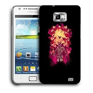 Snoogg Dangerous Samurai Designer Protective Back Case Cover For Samsung Galaxy S2