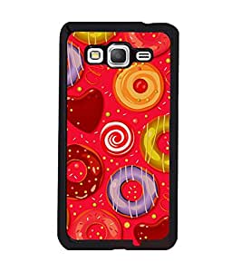 printtech Sweet Donut Candy Back Case Cover for Samsung Galaxy Grand Prime G530h