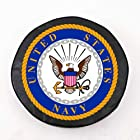 US Navy Seal Military Spare Tire Cover Size: H2 - 35 x 12.5 Inch