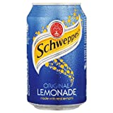 Schweppes Lemonade Can 330ml (Pack of 24)