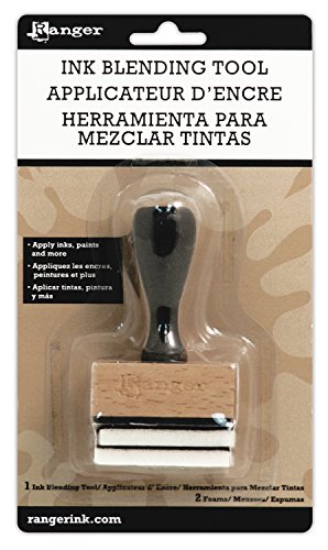 Ranger Inkssentials Ink Blending Tool-with 2 Blending Foams (Ranger Ink Blending Tool compare prices)