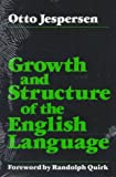 Growth and Structure of the English Language (0226398773) by Otto Jespersen