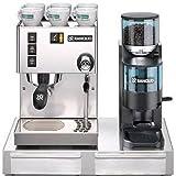 Espresso Maker Rancilio Silvia Doser Grinder & Base