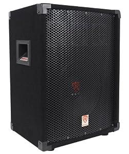 "Package: (2) Rockville RSG-10 Single 10"" Two-Way Pro Audio Passive Loudspeakers Totaling 800 Watt Peak/300 Watt RMS + Technical Pro AX1200 1200 Watt 2-Channel Power Amplifier 2U Rack DJ With Power, Level, and Clipping Indicator"