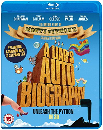 A Liar's Autobiography: The Untrue Story of Monty Python's Graham Chapman (3D) [ NON-USA FORMAT, Blu-Ray, Reg.B Import - United Kingdom ]