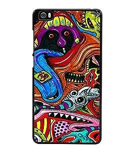 Graffiti 2D Hard Polycarbonate Designer Back Case Cover for Xiaomi Mi 5 :: Redmi Mi5