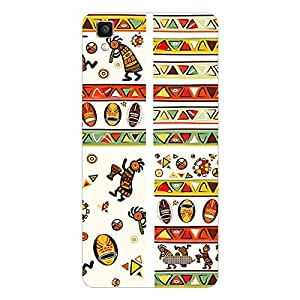 Garmor Designer Silicon Back Cover For Reliance Lyf Wind 6