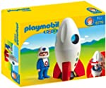 Playmobil 1.2.3 6776 123 Moon Rocket