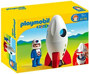 PLAYMOBIL 1.2.3 Moon Rocket