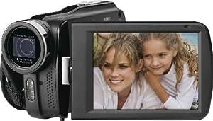 Rollei Movieline SD 55 Camcorder (5 Megapixel Kamera, 7,62 cm (3,0 Zoll) Touchpanel, Full HD, 5-fach optischer Zoom, SD/Micro-SD Kartenslot, USB 2.0) schwarz