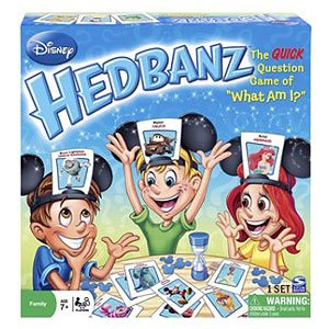 Board Game Exclusive Disney Hedbanz For Kids