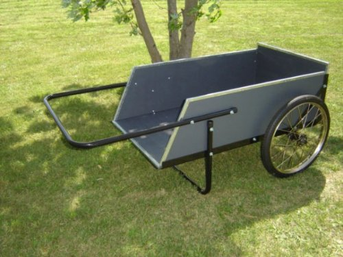 Economy Wooden Garden Utility Cart