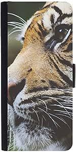 Snoogg Tigerdesigner Protective Flip Case Cover For Samsung Galaxy S4 Mini