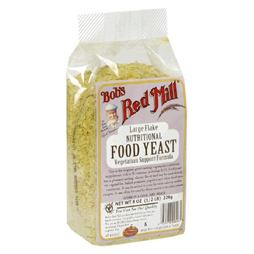 Buy Bob's Red Mill Large Flake Nutritional Food Yeast, 8-Ounce Packages (Pack of 4) (Bob's Red Mill, Health & Personal Care, Products, Food & Snacks, Baking Supplies, Leaveners & Yeasts)