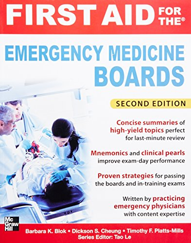 First Aid for the Emergency Medicine Boards 2/E (First Aid Series) PDF