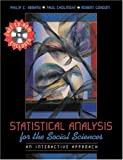 Statistical Analysis for the Social Sciences: An Interactive Approach (0205294936) by Abrami, Philip C.