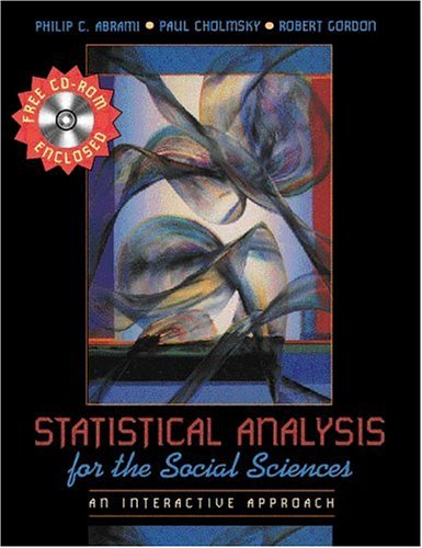 Statistical Analysis for the Social Sciences: An Interactive Approach