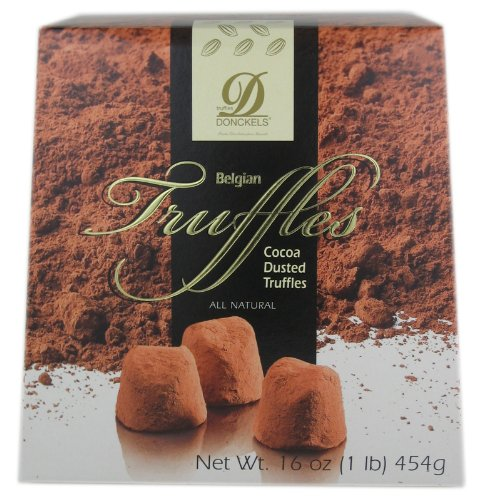Donchels Cocoa Dusted Belgian Chocolate Truffles