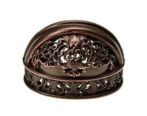 "Carpe Diem Hardware Carpe Diem 154-22 Juliane Grace Oil Rub Bronze 1-9/16"" o.c. finger pull Oil Rubbed Bronze"