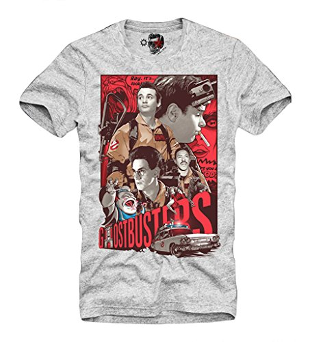 E1SYNDICATE T-SHIRT GHOSTBUSTERS 80s BILL MURRAY BLOGGER