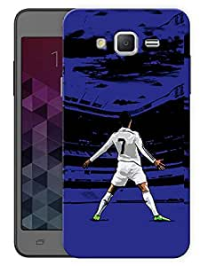"Humor Gang Number 7 Legend Football Printed Designer Mobile Back Cover For ""Samsung Galaxy Mega 5.8"" (3D, Matte, Premium Quality Snap On Case)"