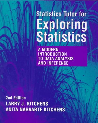 Statistical Tutor for Kitchens' Exploring Statistics: A Modern Introduction to Data Analysis and Inference