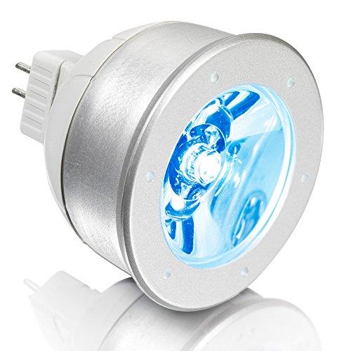 Aurora 1W Led Mr16 Constant Voltage Bulb - Blue Light